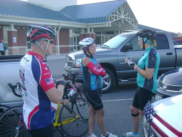 Really important pre-ride discussion....