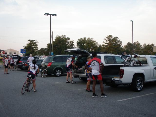 2012 Surry Century - Getting Ready