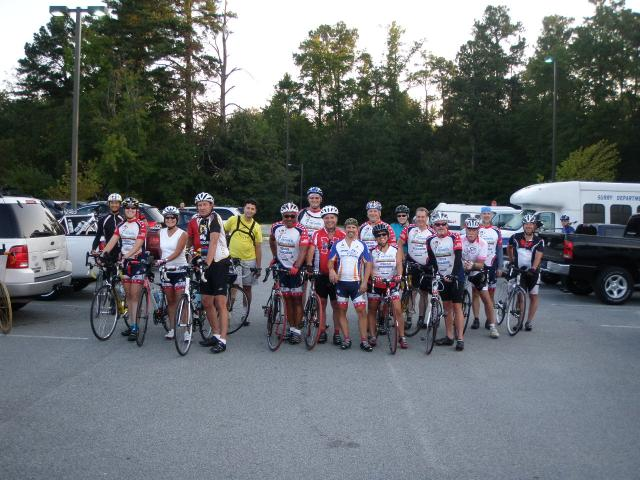 2012 Surry Century - preride photo